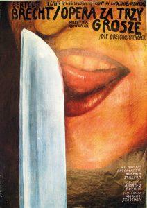 Wilktor Sadowski, Opera Za Trzy Grosze, 1985 – Frank Fox Polish Poster Collection at Drexel University
