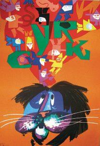 Tadeusz Jodlowski, Cyrk, 1979 – Frank Fox Polish Poster Collection at Drexel University