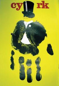 Andrezej Pagowski, Cyrk, 1978 – Frank Fox Polish Poster Collection at Drexel University