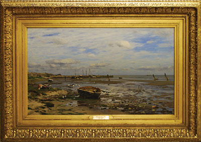 Isle of Sylt painting after