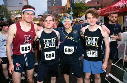 Participants in the University City 5k
