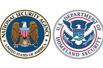 NSA and DHS logos