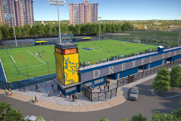 Rendering of vidas athletic complex improvements