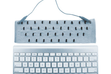 knitted keyboard