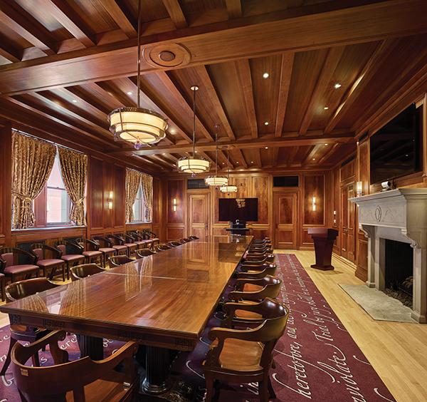 Kline Center interior