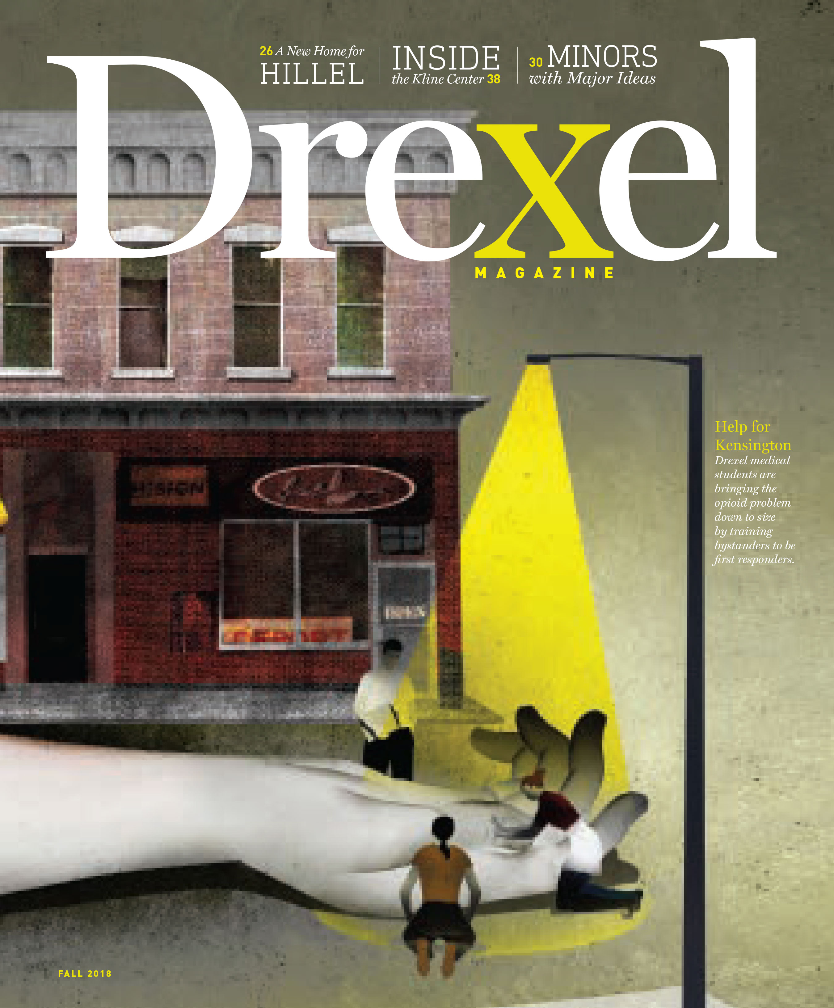 Fall 2018 Drexel Mag Cover