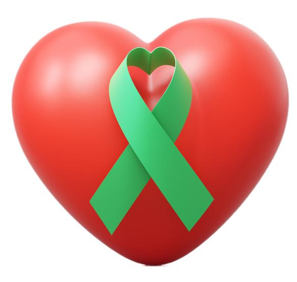 heart transplant symbol