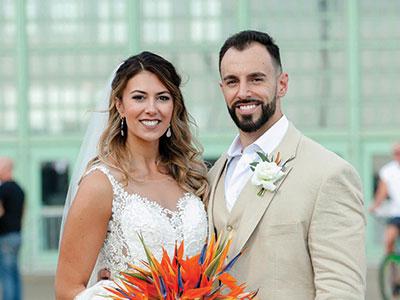 the zappacostas at their wedding