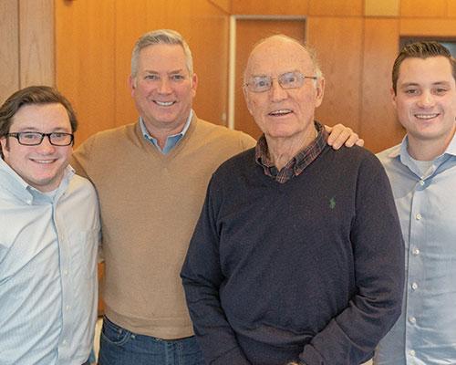 three generations of drexel students
