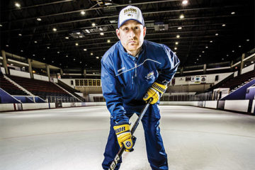 tommy leonardi on the ice