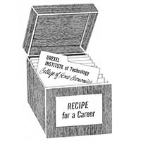 box of recipes