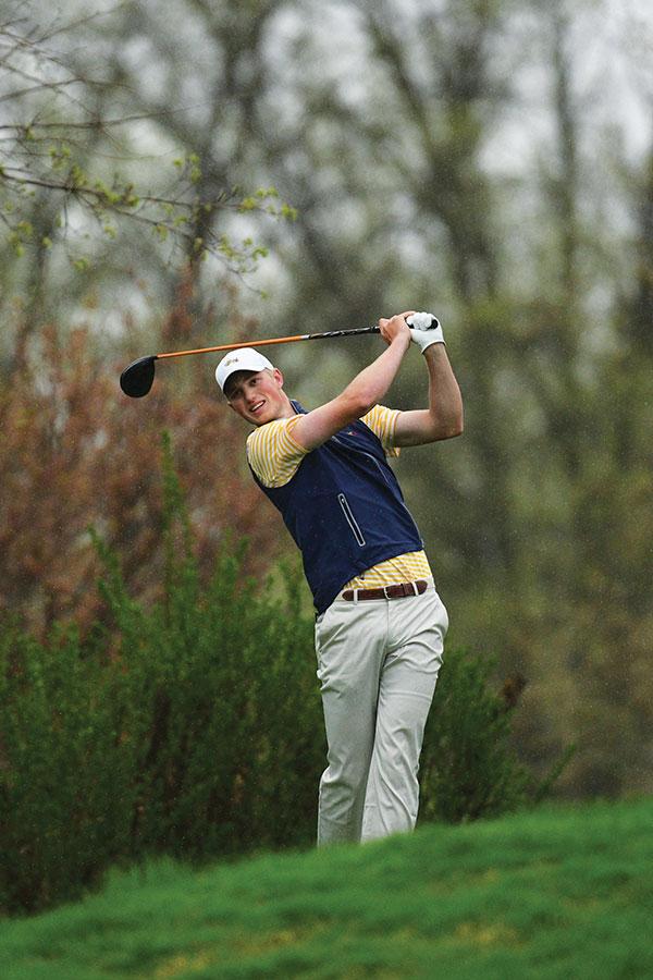 connor golfing