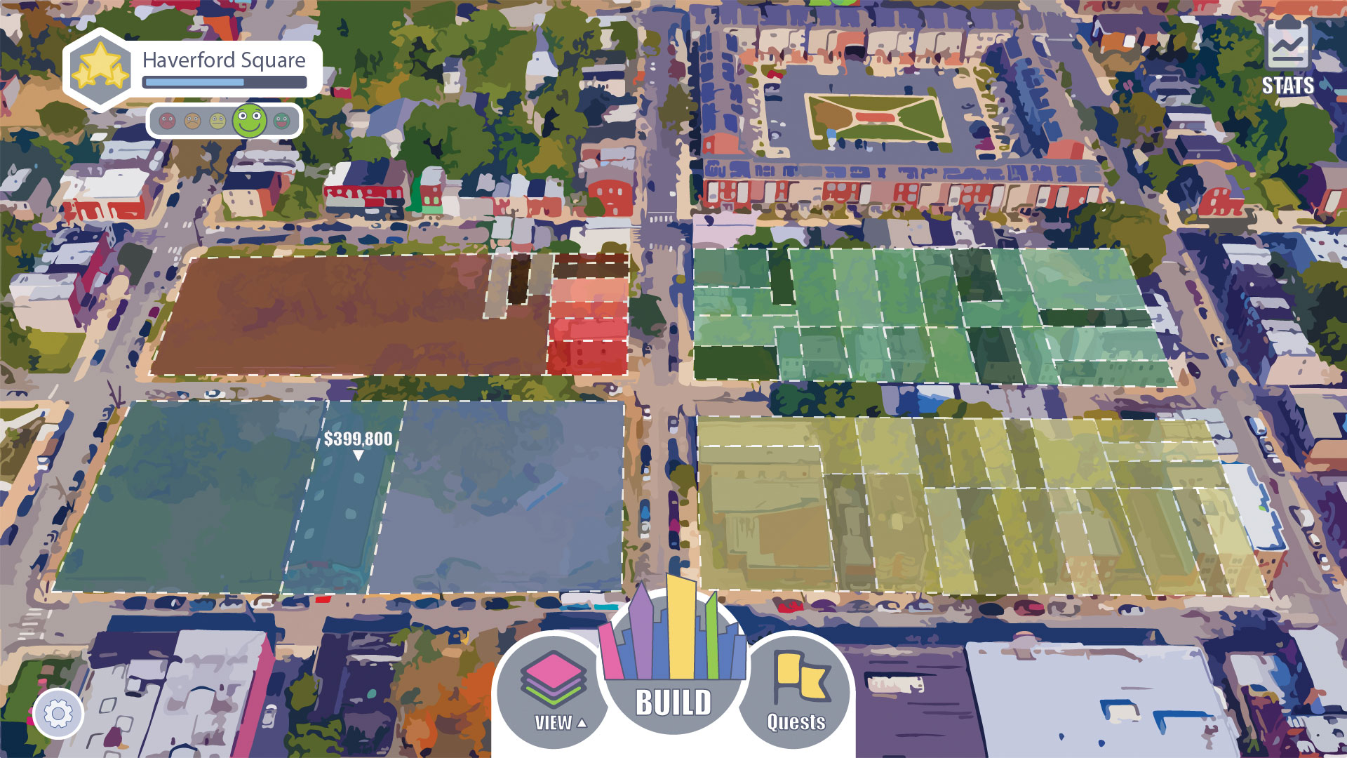 virtual simulation of philly