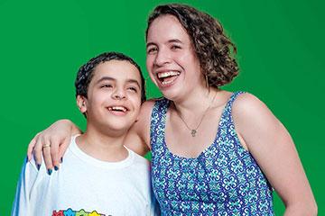 dahrah and her brother
