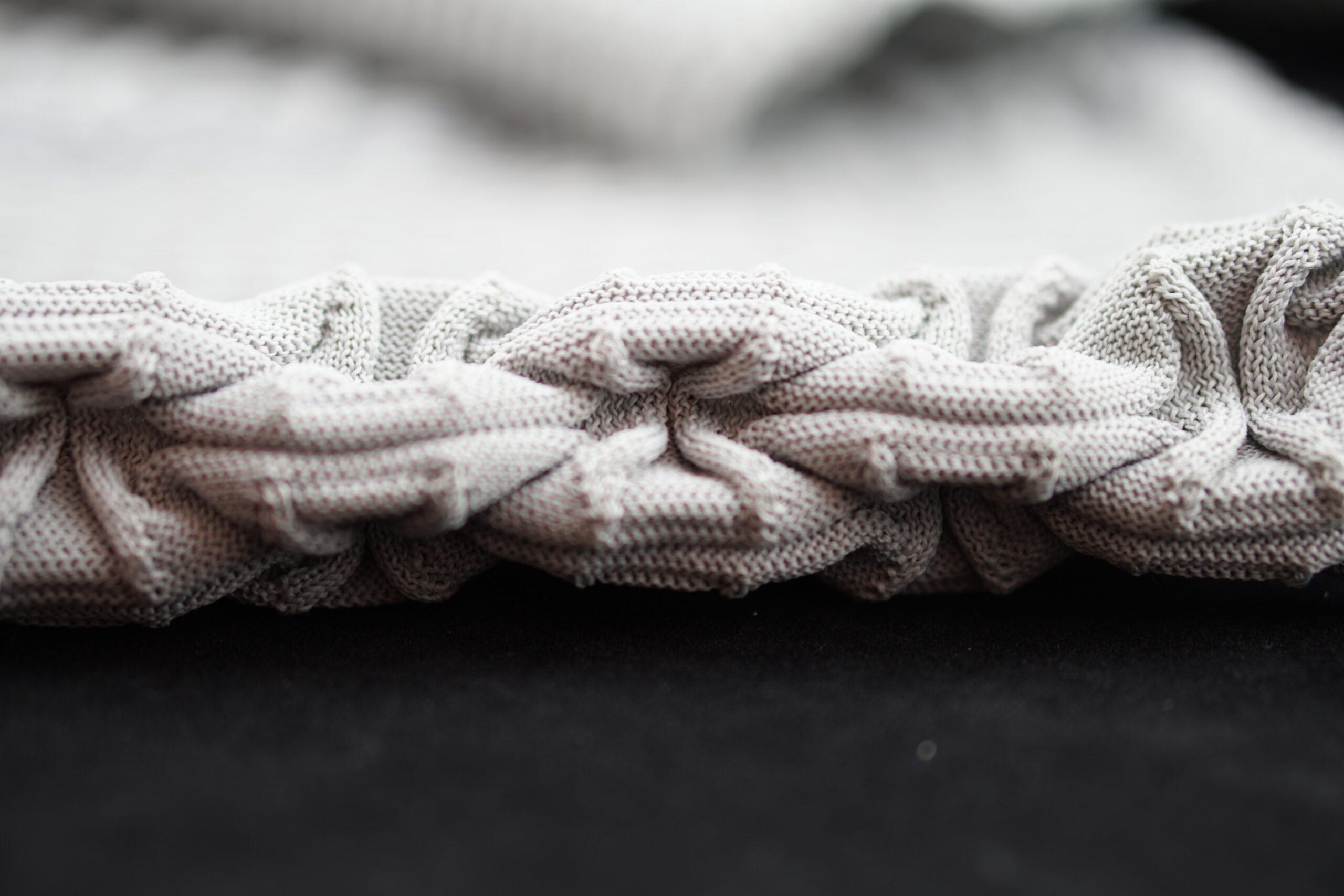 self folding fabric