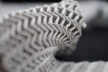 self folding fabric textile