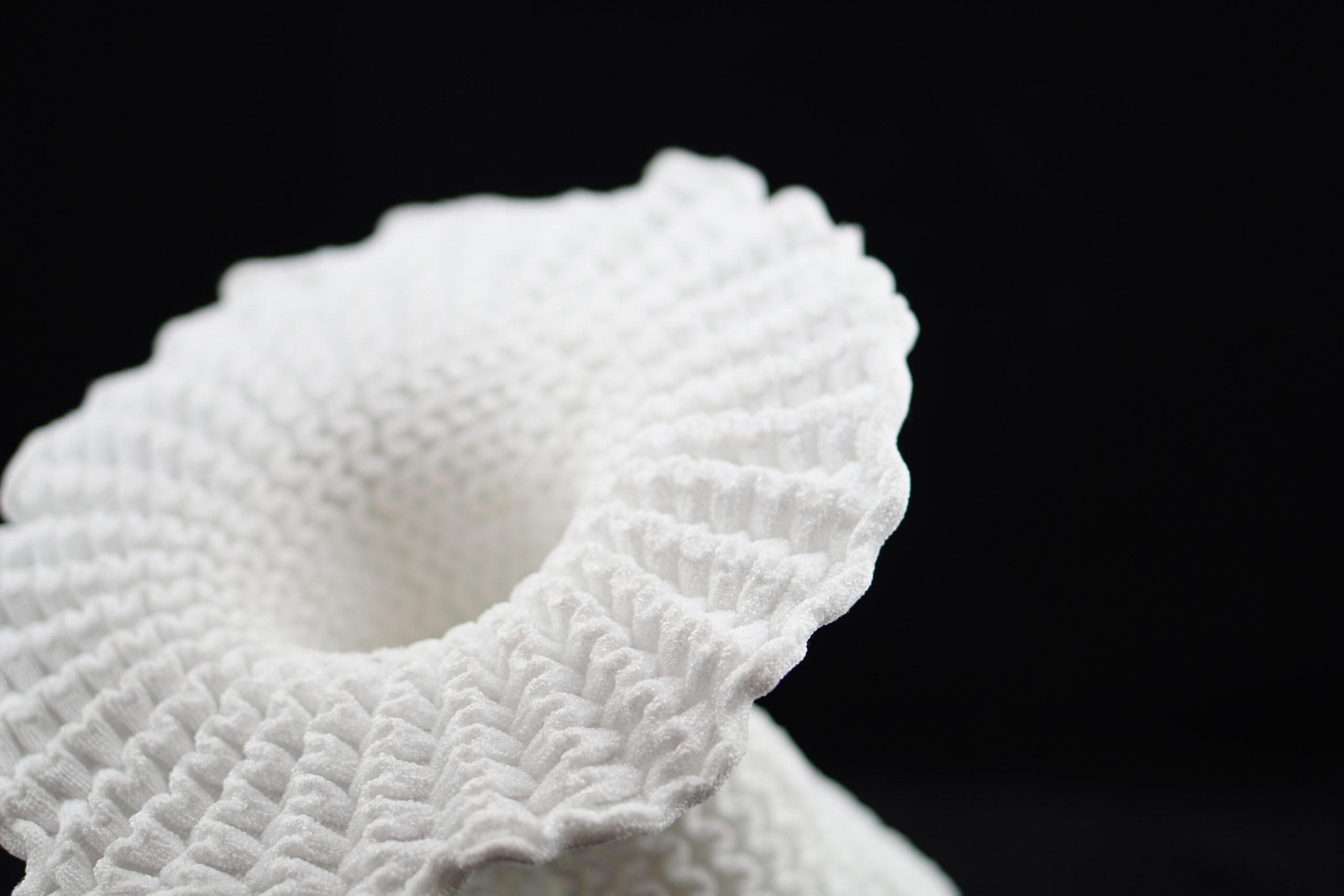 self folding lamp textile